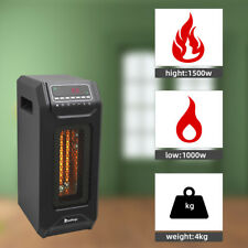 Bedroom Heater Cabinet Portable Electric Space 1500w Infrared Quartz Remote Home