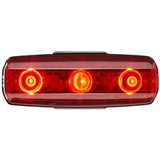 Cateye Rapid Micro USB Rechargeable Rear Light 15 Lumens Red
