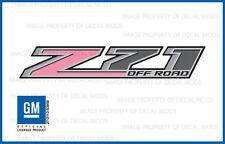 set of 2: 2018 Z71 Off Road Decals - FBSP stickers GMC Sierra Baby Soft Pink