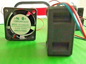 Fans 12 Volt 12Vdc 40mm x 40 x 20mm Cooling Fan Sleeve FP108G/DC12VS2S x 3pcs