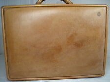 """Vintage Hartmann Luggage Belting Leather 4"""" Briefcase Attache"""
