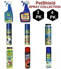 Weed Flea Spider Fly & Wasp Slug & Snail Killer Spray Collection In 2 & 4 Pack