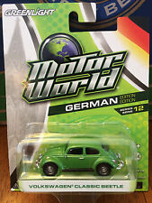 Greenlight MOTOR WORLD series 12  Volkswagen Classic Beetle    green