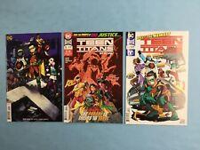 3x Teen Titans # 20 Variant A & B ~ Special # 1 2nd Print ~ 1st Appear Crush