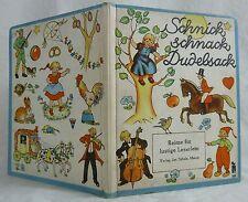 Schnick , schnack Dudelsack. Reime für lustige Leserlein. ca.1950
