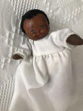"Beckett Originals Wooden Baby Doll ""Dixie"" By June 1978"