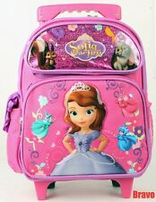 "Disney Princess Sofia Toddler Rolling Backpack 12"" Girls>>> USA FAST SHIPPING"