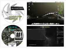 Sparky Linux 4.5.2 XFCE & Crunchbang 11 Waldorf 32 bit 2 disk Operating Systems