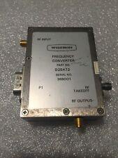 Wiltron (Anritsu) D25472 Frequency Converter for VNA analyzer