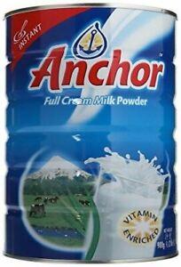 Anchor Full Cream Milk Powder -900g/2lb