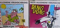 Erste Allgemeine Verunsicherung/ EAV- Ding Dong/ Samurai- 2x 3-Track-MCDs