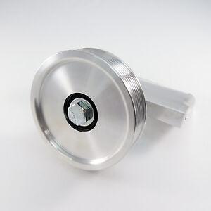 ALUMINUM SMOG PUMP IDLER PULLEY BRACKET KIT  - 79-95 MUSTANG 5.0 - MOD