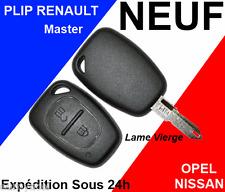 COQUE CLE PLIP RENAULT OPEL MASTER TRAFIC VIVARO TELECOMMANDE NEUF PRO