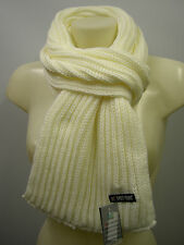 Sciarpa scarf SWEET YEARS art.MS1489 colore 1 bianco white Italy