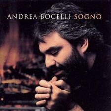 """ANDRE BOCELLI SOGNO SEALED First CD 1999 With BOLLA WINES """"As Heard"""" Sticker WOW"""