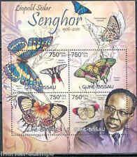 GUINEA BISSAU 2012 LEOPOLD SEDAR SENGHOR   SHEET MINT NH