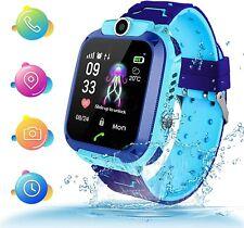 Kids Smartwatch, Kids GPS Tracker Watch Kids Waterproof Smart Watch Phone GPS Tr