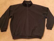 Jos A Bank Ledbetter Golf gray fleece jacket XL