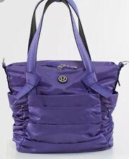 LULULEMON ATHLETICA Persian Purple TRIUMPHANT TOTE Gym/ Travel Bag