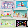 Home Decor Cute BT21 Pillowcase Car Sofa Waist Cushion Cover BTS Pillowcase