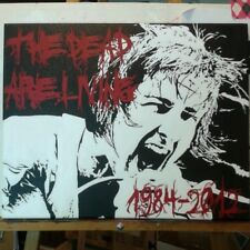 Hand-painted Custom Mitch Lucker Suicide Silence Painting 16x20in