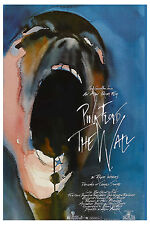1980's Psychedelic:   Pink Floyd  * The Wall *  USA  Movie Poster 1982