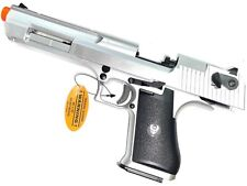Airsoft Desert Eagle Style Gas Blowback Pistol 350 FPS Semi-Auto Manual Safety