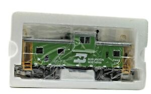 Vintage MTH Premier Extended Vision BN Illuminated Caboose FW & D 170 Orig Box