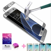 For Samsung Galaxy S6 S7 Edge Plus Premium Tempered Glass Film Screen Protector