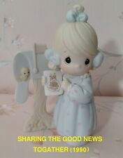 Precious Moments Figurines:Sharing The Good News Togather (1990)