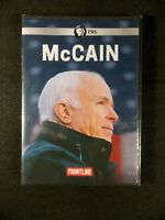 McCain (DVD, 2018, PBS) Frontline/His Relationship with Donald Trump BRAND NEW!