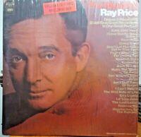RAY PRICE ~ The World Of, Columbia Vinyl 2-LP 1970 70s Country Album NM+
