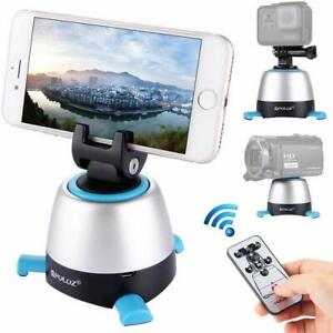 360° Panoramic Head Action Camera Tripod Time Lapse Mount for GoPro Phone DSLR