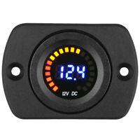 DC 12V LED Panel Digital Voltage Meter Display Voltmeter for Car Motorcycle