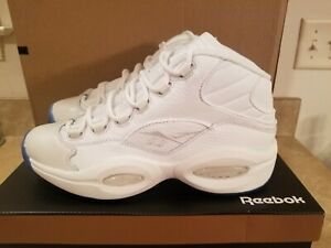 Reebok Men's Question Mid White Ice EF7598 Size 9 *BRAND NEW*