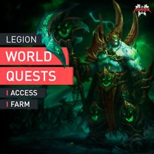 WOW 100 Legione World questua Access Farm 845+ item 14000 order Resources