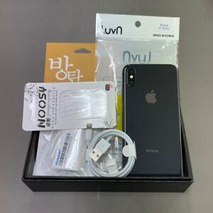 Apple iPhone X 64GB Gray A1901 Factory Unlocked Single sim Screen Burn-in