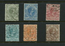 Italy  1884/6  #Q1-6   Parcel Post  6v.  used/MH  F772