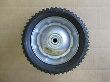 "Steel Mower Deck Wheel Solid Rubber 8-1/4 x 275 Tire  1/2"" BB  2-1/4"" Offset"