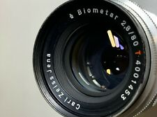 Carl Zeiss Jena 80mmF2.8 Biometer original M42 lens rare