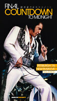Elvis Presley Final Countdown To Midnight Box Set - 2 CDs 1 DVD 100+ Paged Book