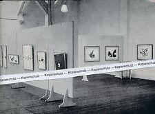 Friburgo nel propedeutico-arte Club-esposizione Julius Bissier-per 1955 H 8-6