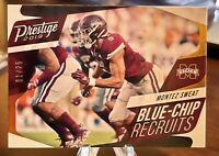 2019 Panini Prestige Football Montez Sweat Blue-Chip Recruits Insert  #d /25 🔥