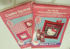 Set of 2 Hello Kitty Craft Fabrics