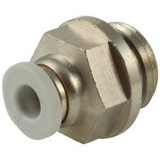 kelm rácores automáticos de plástico - 10mm x 3/8 BSPP gris conector macho