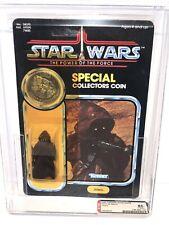 AFA 85 Star Wars 1985 Kenner Jawa POTF 92-back 85-85-85 Unpunched Y-NM+
