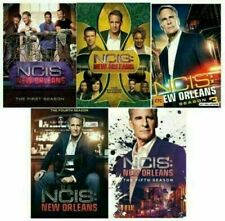 NCIS NEW ORLEANS COMPLETE SERIES- 1-5, DVD SET, FREE SHIPPING, NEW.