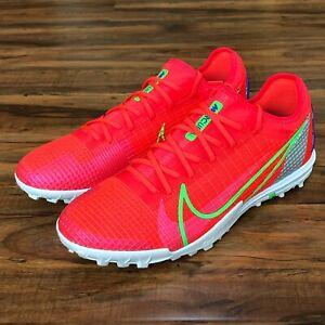 Nike Mercurial Vapor 14 Pro TF Soccer Shoes CV1001-600 Men's Size 8.5