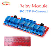 DC 12V 8-Channel 8CH Relay Module with Optocoupler Isolation H/L High/Low