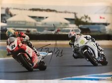 Troy Bayliss Hand Signed Ducati 16x12 Poster 1.